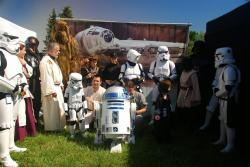 Star wars à Bouc Bel Air