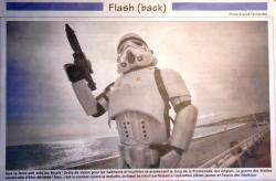 Nice-matin, galaxie Vésubie Fred le stormtrooper